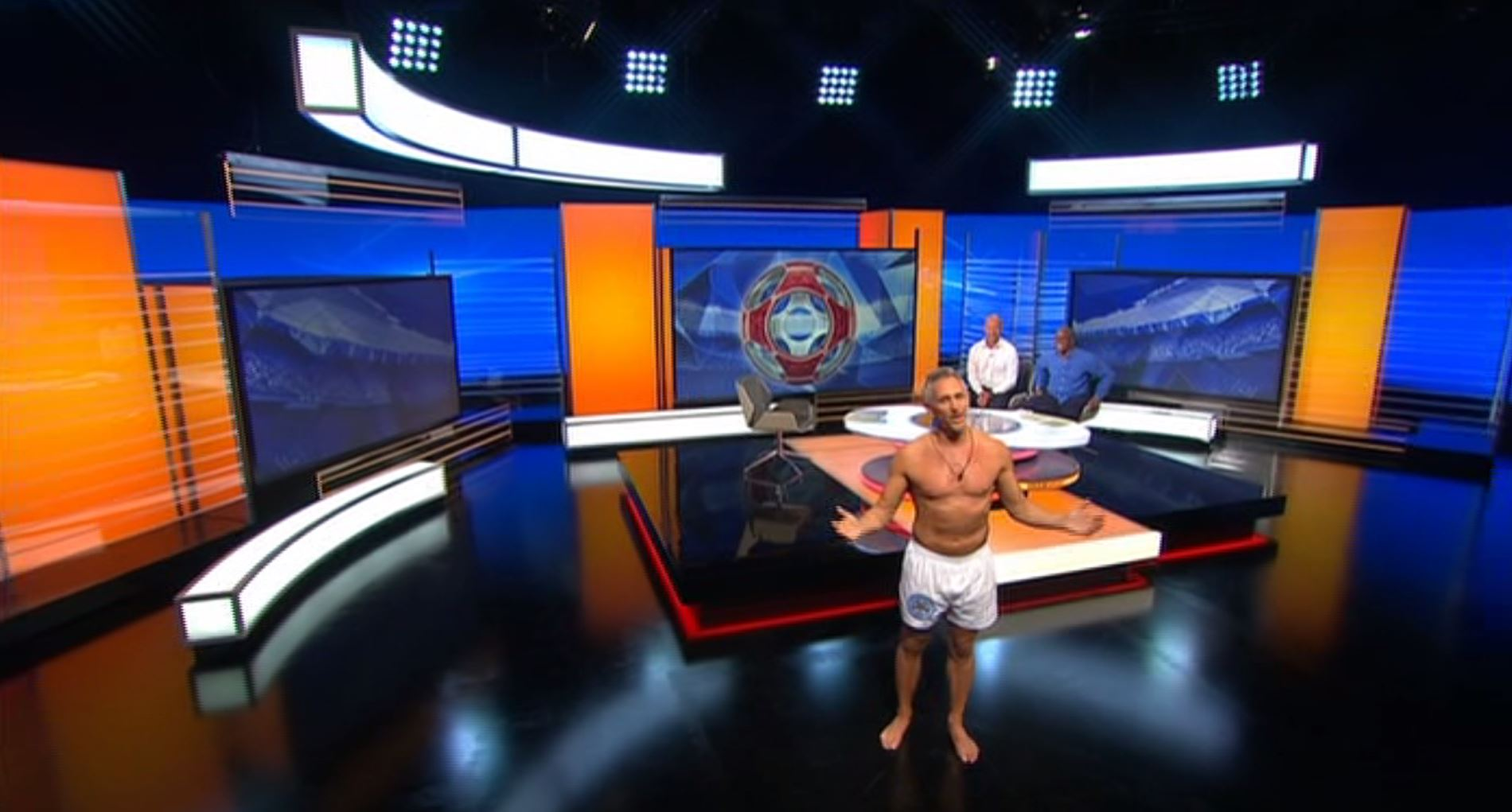 Gary Lineker actually presents Match of the Day in his pants