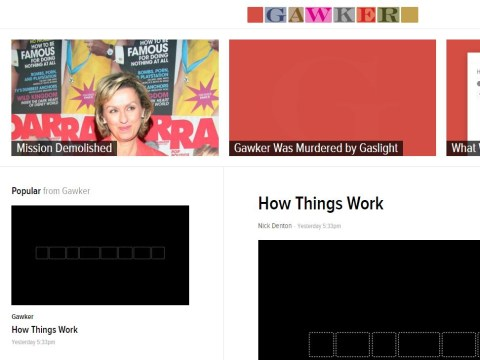 Gawker website goes down swinging on its final day