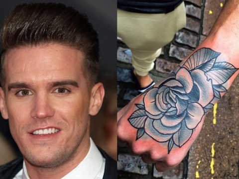 Geordie Shore's Gary Beadle has a new tattoo – and it looks just like ex-girlfriend Charlotte Crosby's