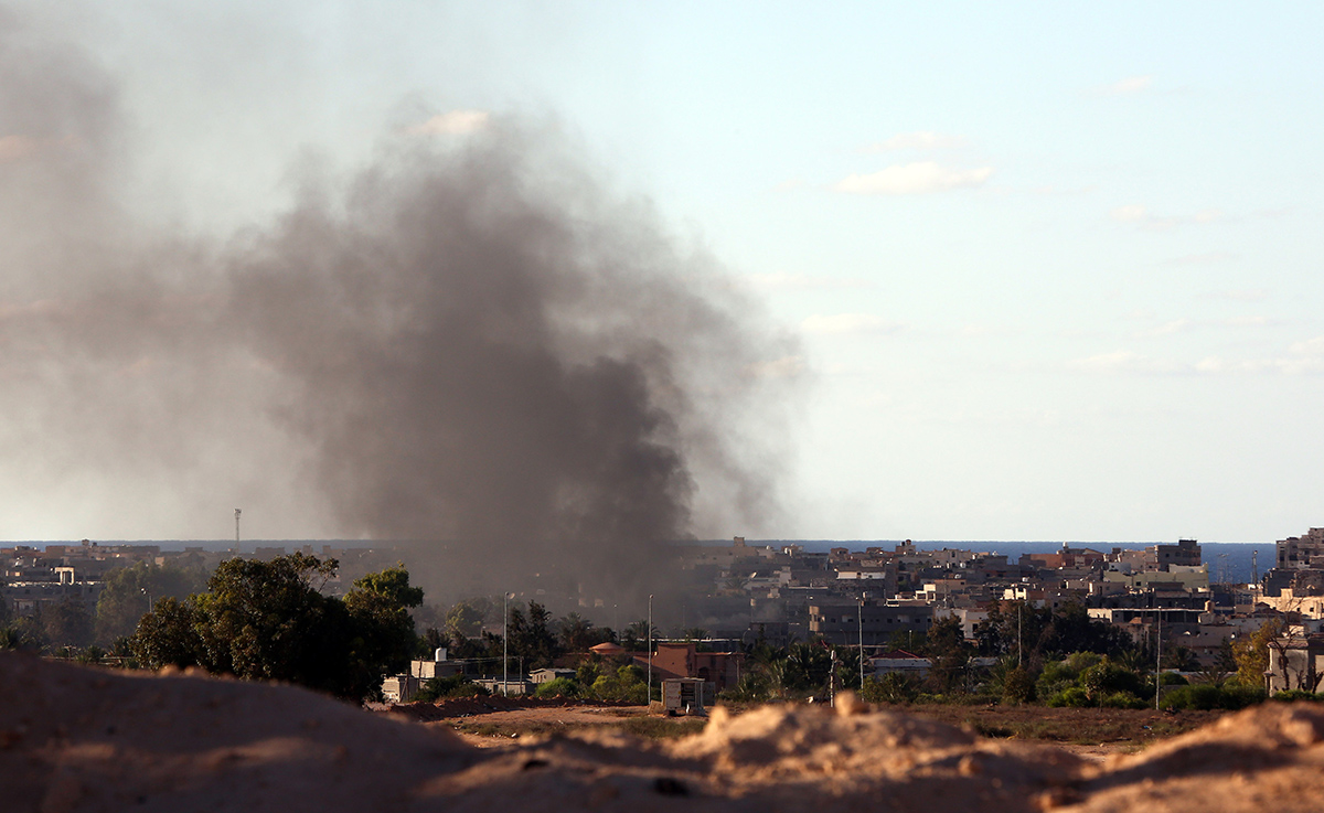 US launches air strikes on Isis in Libya