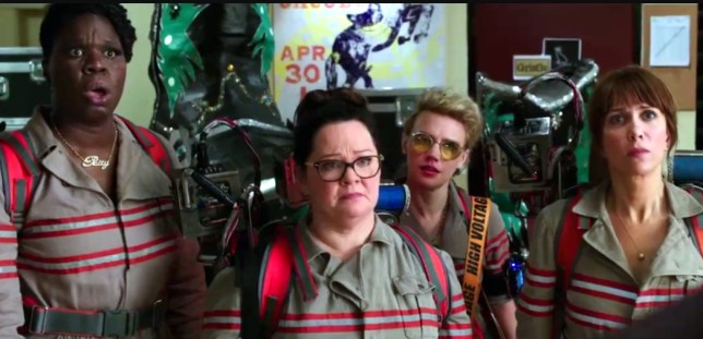 Did the female stars of GHostbusters stand a chance? (Picture: Columbia Pictures)