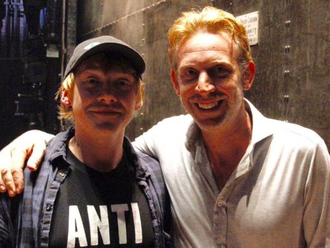 Ron Weasley stopped by to see the Cursed Child play and the Harry Potter world imploded