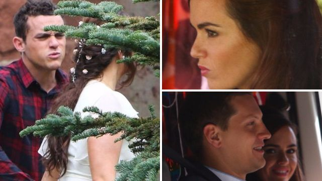 Hollyoaks spoilers: First pictures of a dramatic double McQueen wedding