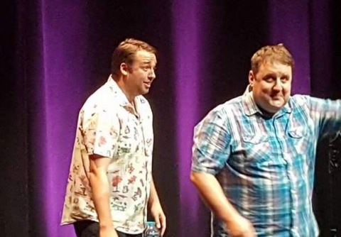 Peter Kay joined Jason Manford on stage as surprise 'support act' and fans freaked out