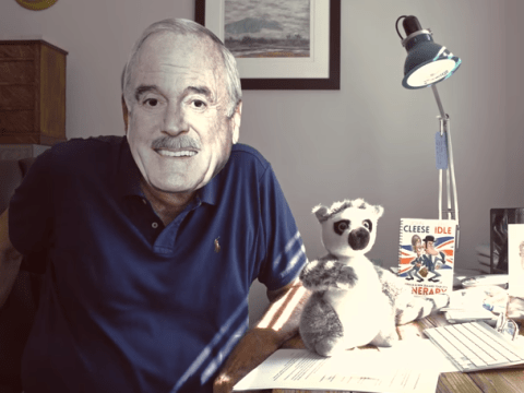 John Cleese celebrates career and shares financial hopes as he launches YouTube channel