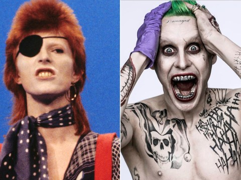 Jared Leto claims The Joker in Suicide Squad was inspired by David Bowie
