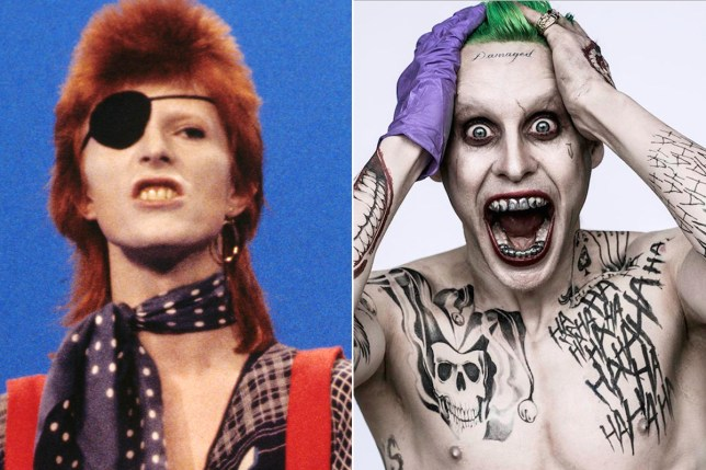 Jared Leto says The Joker was inspired by David Bowie