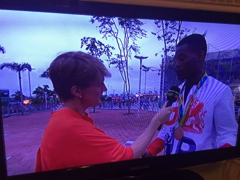 Joshua Buatsi wins gold for most arrogant Olympian during interview with Clare Balding