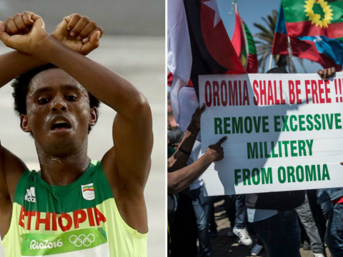 Olympic athlete 'could face death' after Ethiopian government protest