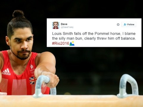 People are blaming Louis Smith's man bun for Team GB's gymnastics heartbreak