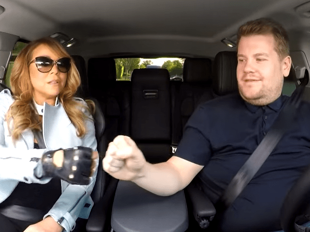 Mariah Carey had no idea she was expected to sing when she appeared on Carpool Karaoke
