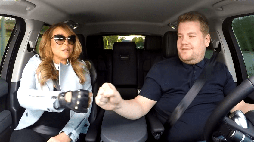 Mariah Carey was the first ever guest on Carpool Karaoke (Picture: CBS)