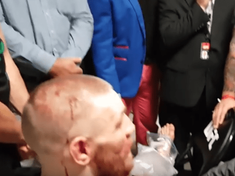 UFC president Dana White insisted Conor McGregor had to go to hospital after Nate Diaz fight
