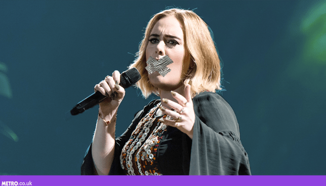 Adele vows to quit swearing (Picture: REX Features / Alamy - Credit: METRO/Mylo)