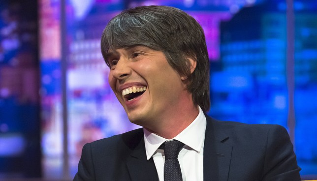 Prof Brian Cox gave it his best shot (Picture: REX Features/Shutterstock)