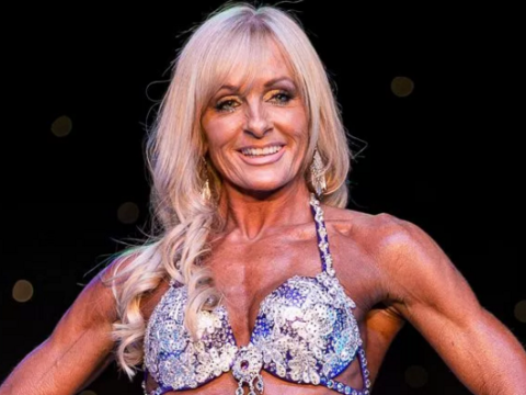 This grandma is way more ripped than you'll ever be