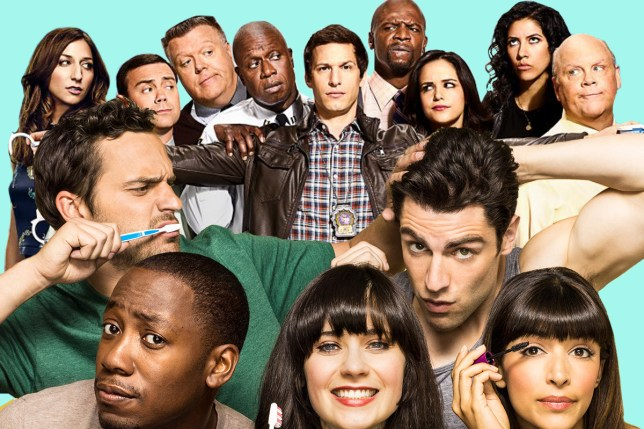 New Girl and Brooklyn 99 are crossing over omg