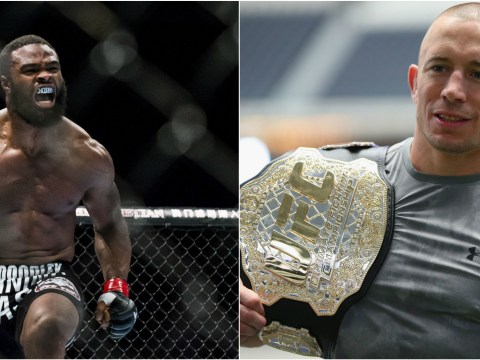 Tyron Woodley wants to fight UFC legend Georges St-Pierre for first title defence
