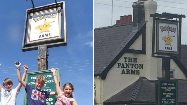 Landlord renames historic pub The Pokémon Arms
