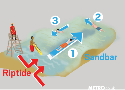 How to survive a riptide: A guide that could save your life