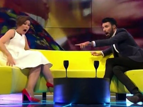 There was a huge spider on the set of CBBBOTS and Rylan and Emma couldn't cope