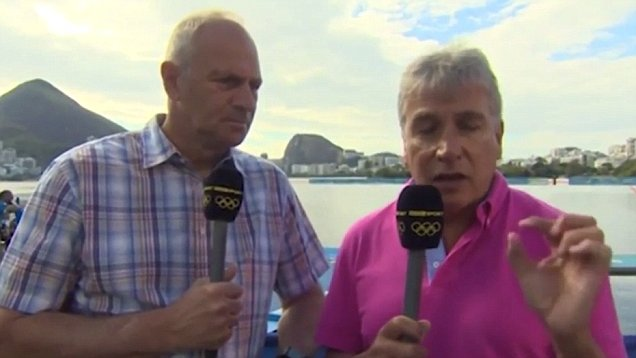 BBC refutes claim Sir Steve Redgrave 'could face the axe after walking out of a live broadcast'