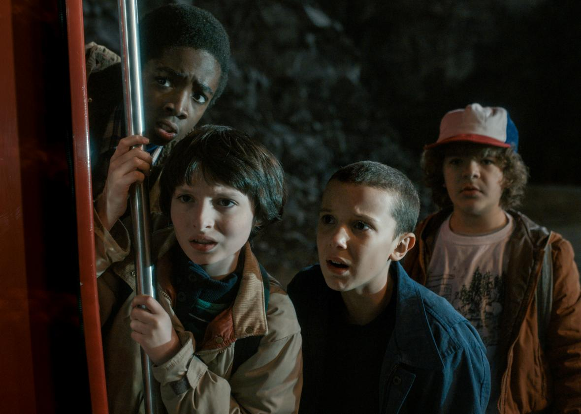 How many episodes of Stranger Things does it take to get addicted?