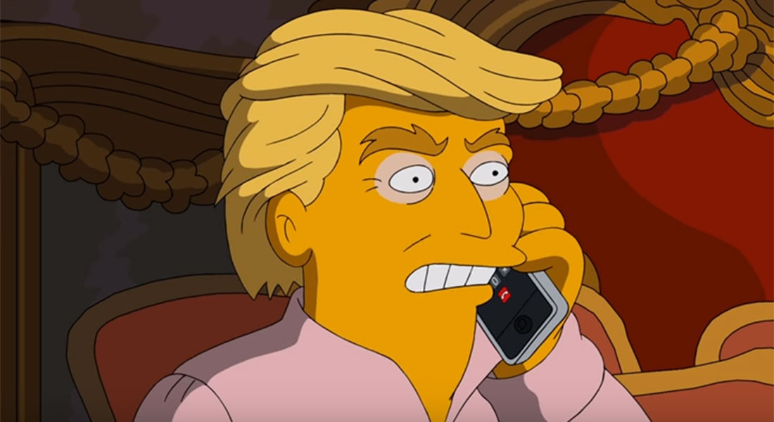 The Simpsons just spoofed Donald Trump – again – in their take on the US elections
