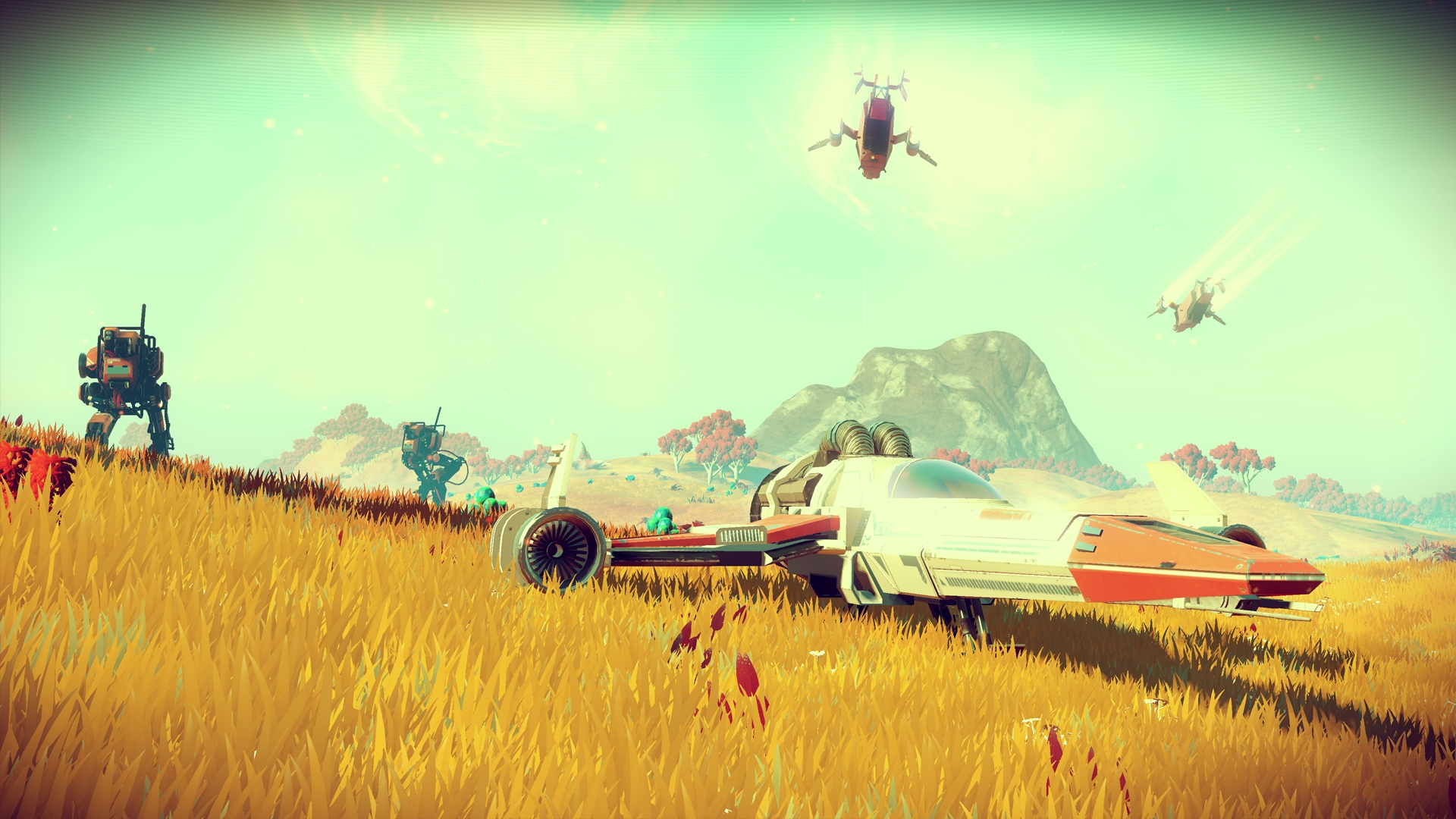 One day with No Man's Sky – review in progress