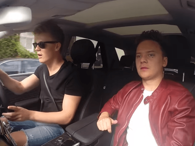 Is Conor Maynard's Carpool Karaoke spoof better than James Corden's real thing?