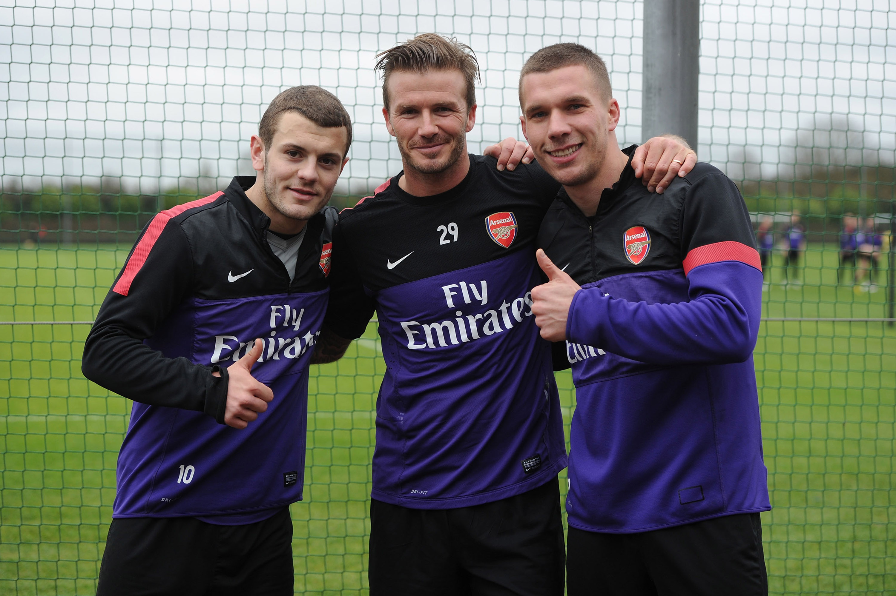 David Beckham advised Arsenal's Jack Wilshere on deadline day move