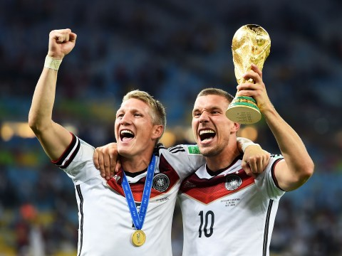 Lukas Podolski blasts Jose Mourinho over Bastian Schweinsteiger treatment