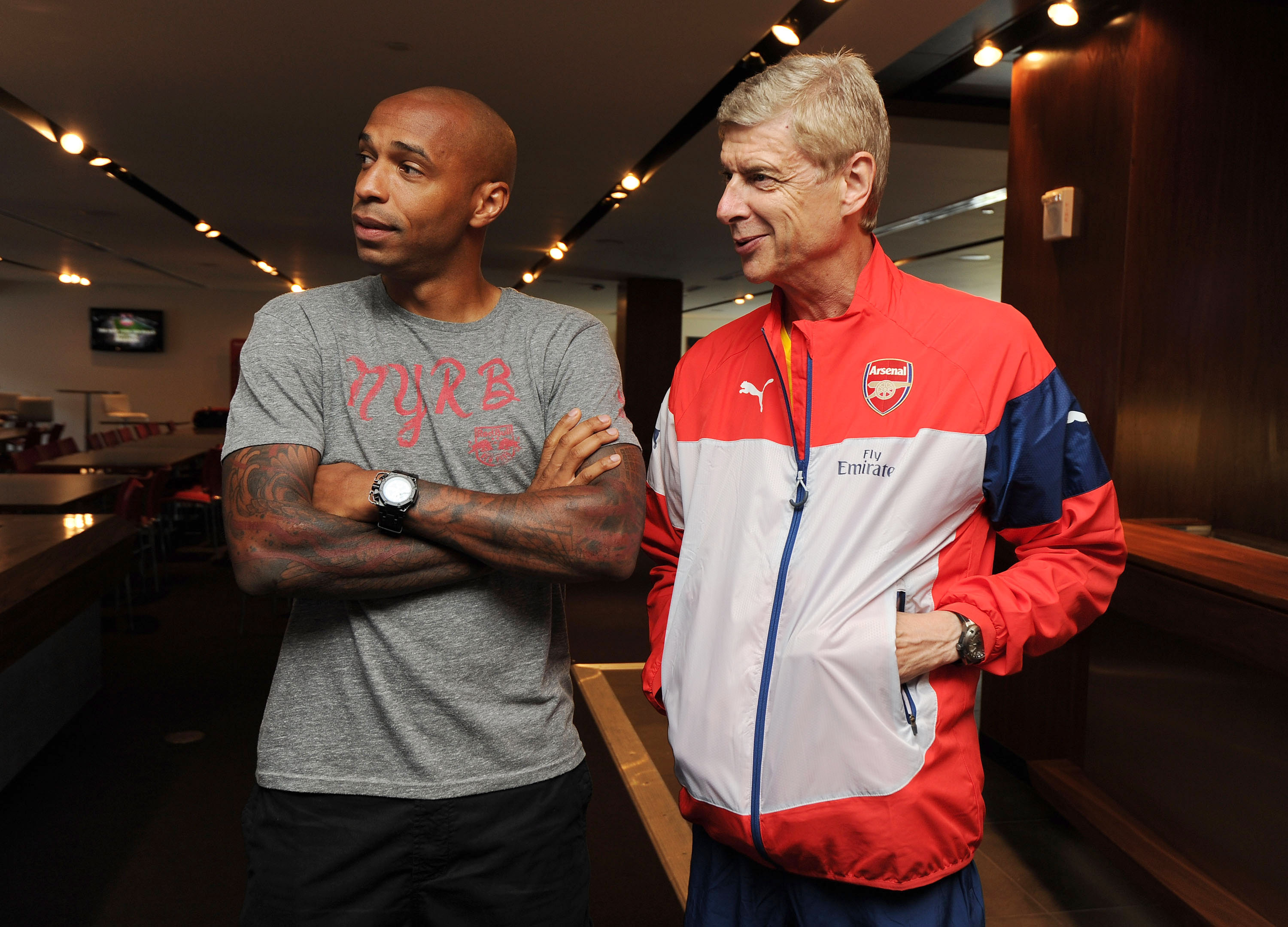 Arsene Wenger reveals why Thierry Henry's Arsenal exit was best for all parties