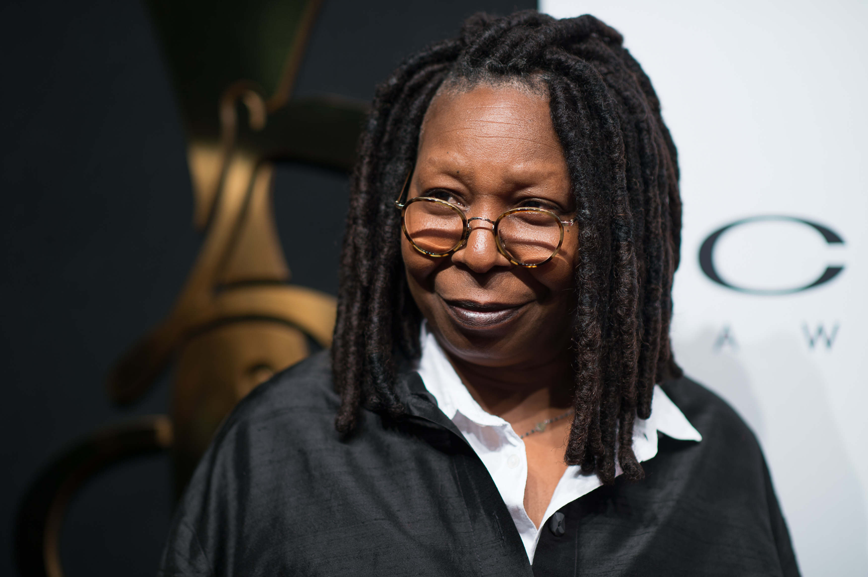 Ever noticed that Whoopi Goldberg doesn't have eyebrows?