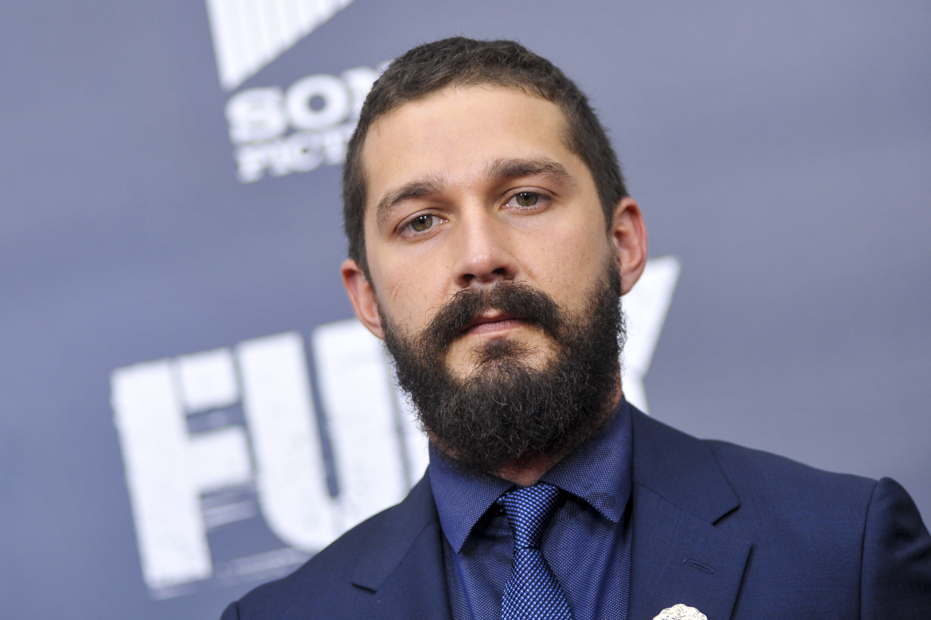 Shia LaBeouf really needs to cheer up in first picture of him as John McEnroe