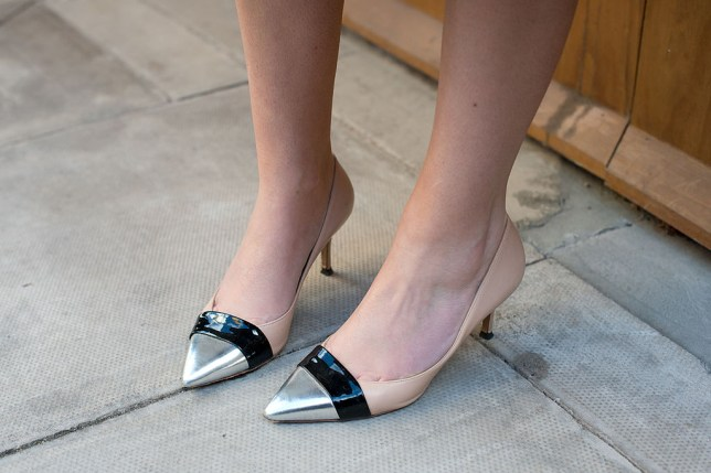 274cb14a41f Vogue tried to bring back kitten heels and people can t stop taking ...