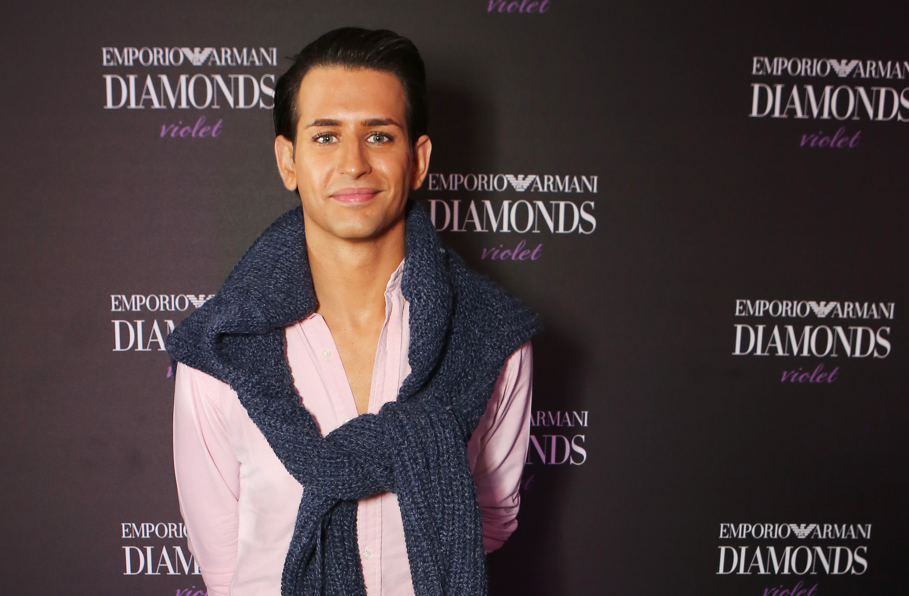Ollie Locke is one of the contestants on Celebrity Island with Bear Grylls (Picture: David M. Benett/Dave Benett/Getty Images for Emporio Armani)