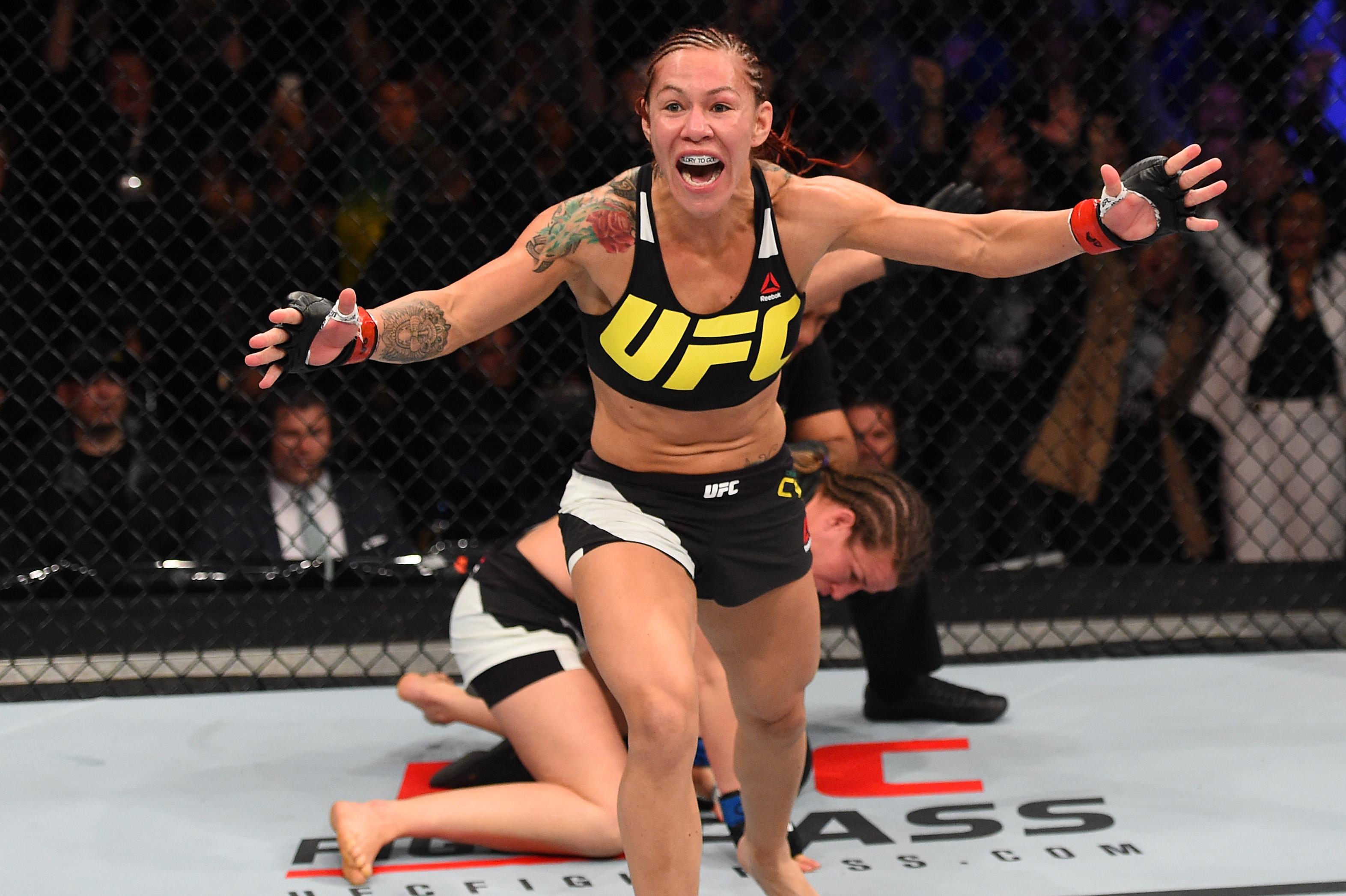 Female MMA star Cris Cyborg reveals drastic measures she is taking to make UFC Brasilia weight