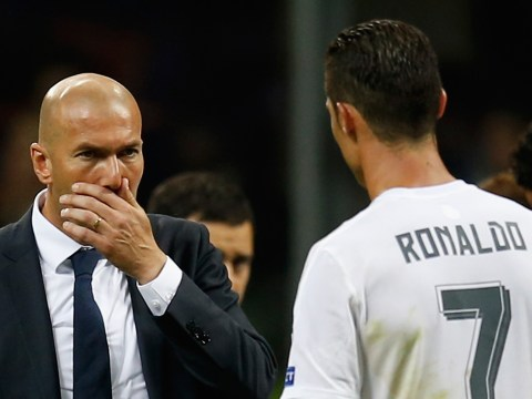 Real Madrid boss Zinedine Zidane denies rift with Cristiano Ronaldo