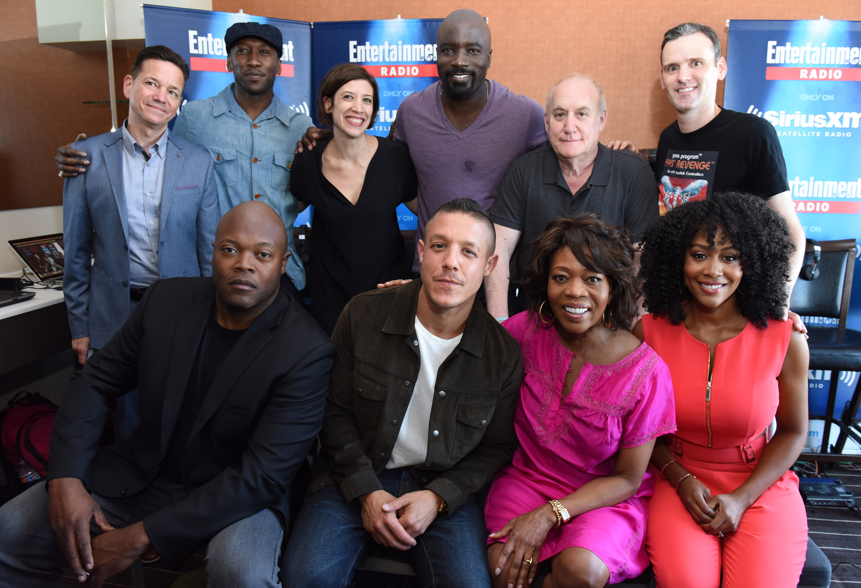 Luke Cage already has an incredible principle cast - but look out for some awesome guest spots (Picture: Vivien Killilea/Getty Images for SiriusXM)