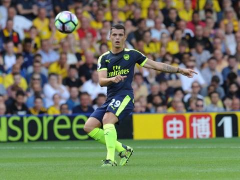 Granit Xhaka says Arsenal boss Arsene Wenger has 'insane charisma'