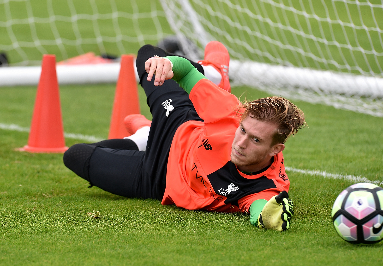 Loris Karius set for return to full training with Liverpool after broken hand injury