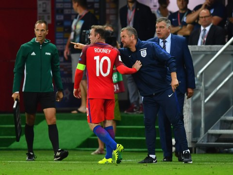 England boss Sam Allardyce labels his captain Wayne Rooney 'brilliant' after Slovakia display