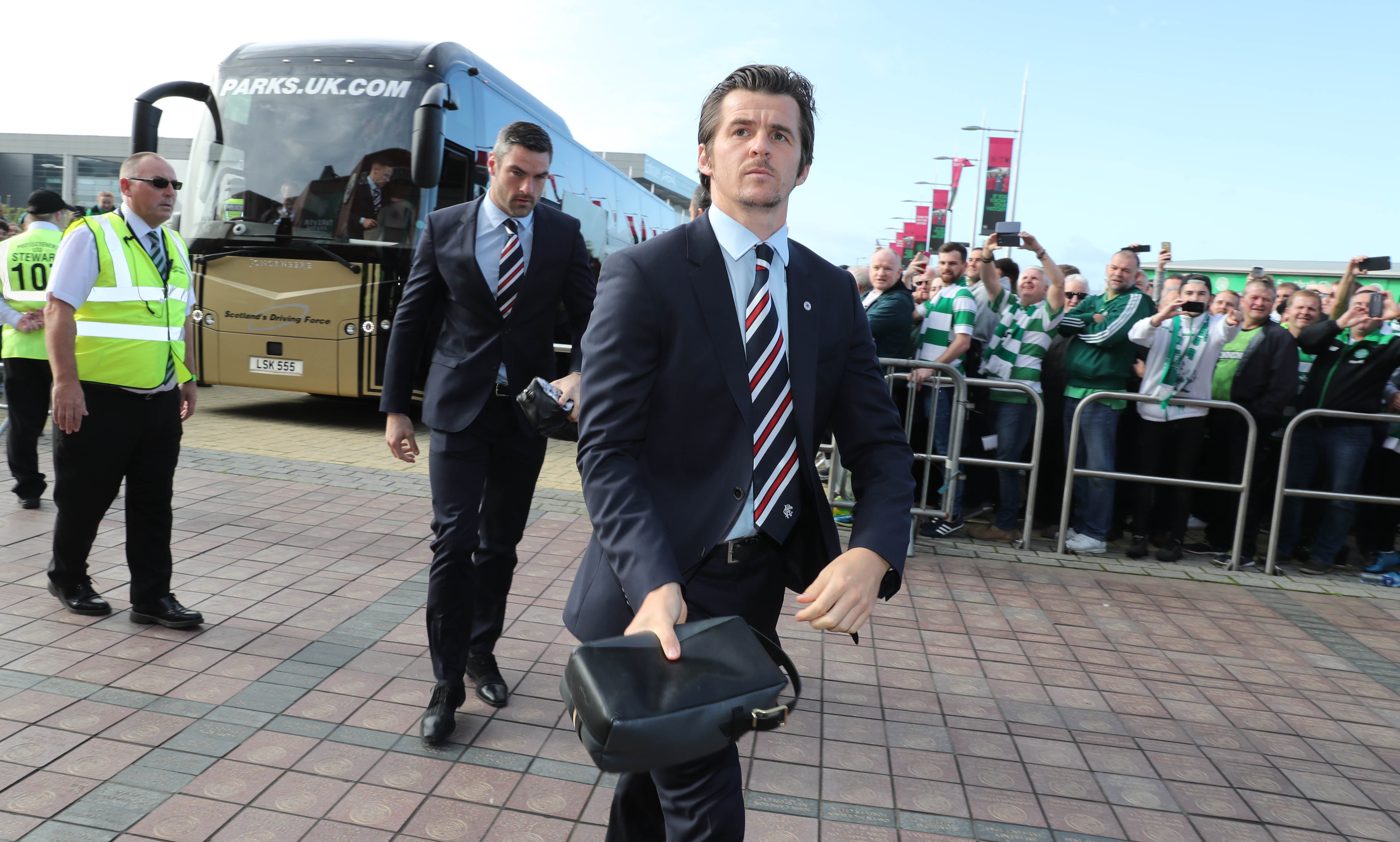 Eight games into his Rangers career Joey Barton has been banned for three weeks