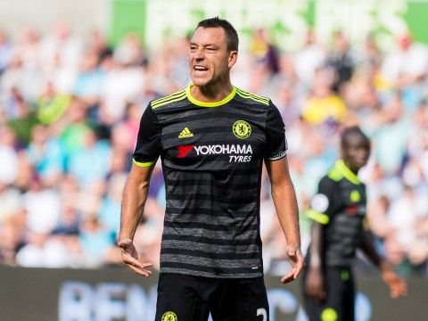 Chelsea defender John Terry confirms he has returned to training ahead of London derby against Arsenal