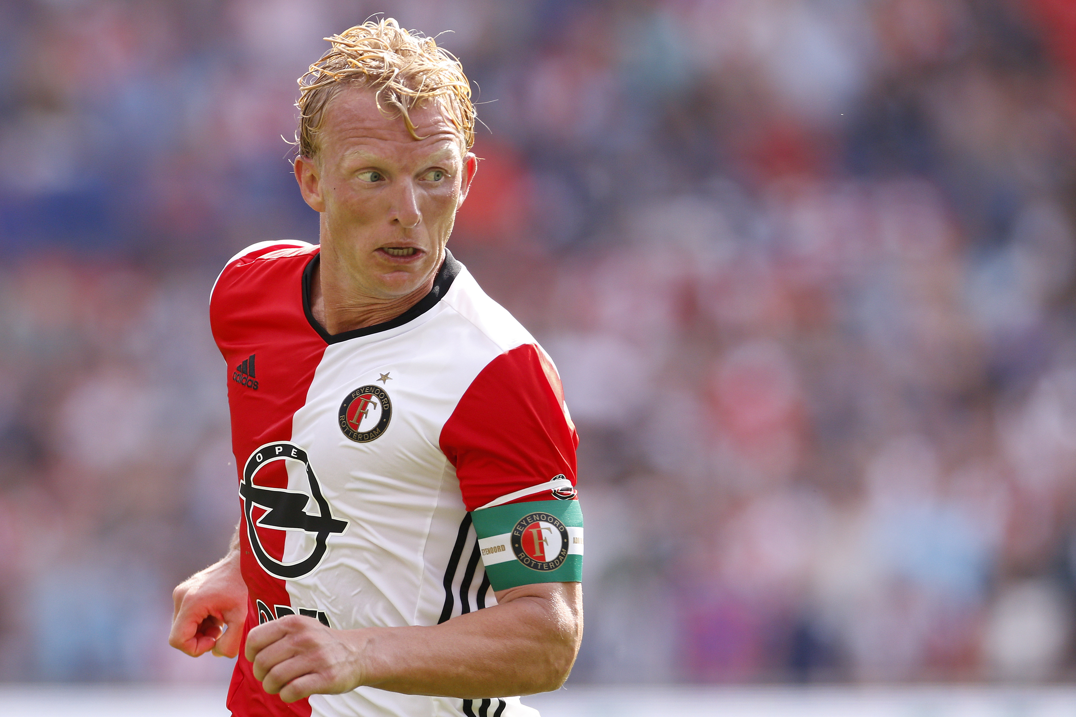 Ex-Liverpool star Dirk Kuyt hopes to score past Manchester United again for Feyenoord