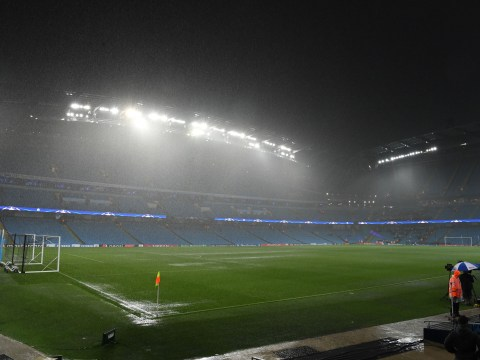 Manchester City's Champions League game against Borussia Monchengladbach called off due to severe rain