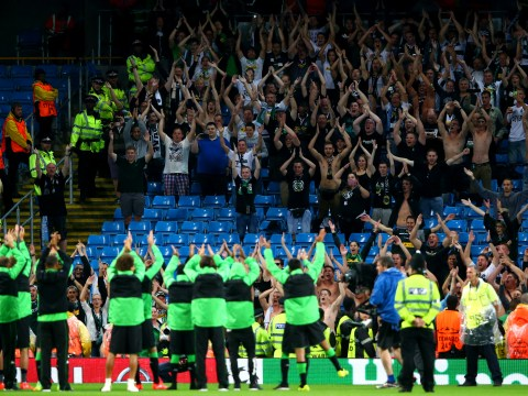 Video: Quality moment between Borussia Monchengladbach and their supporters after Manchester City tie cancelled