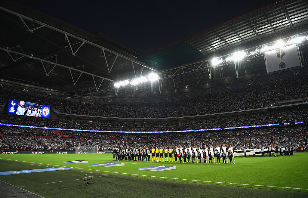 Tottenham Hotspur set new club and English attendance record on Wembley debut