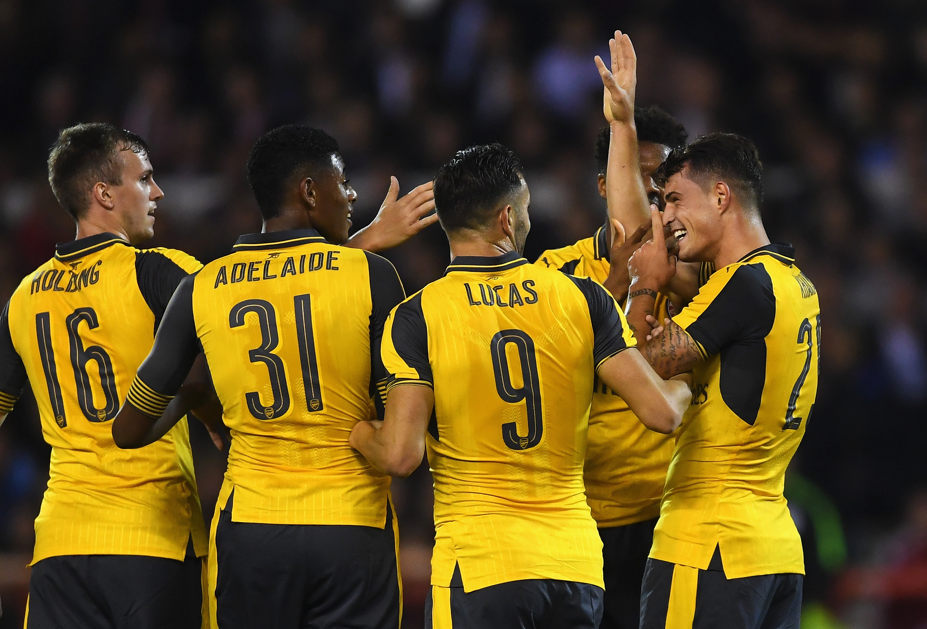 Arsenal must wear yellow away strip at home due to FC Basel kit clash